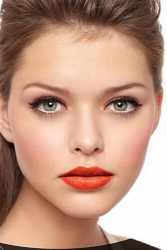 آرایش مناسب رنگ چشم سبز